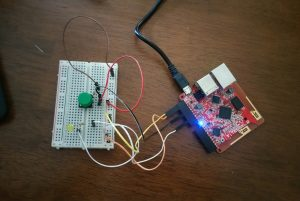 LED with button circuit